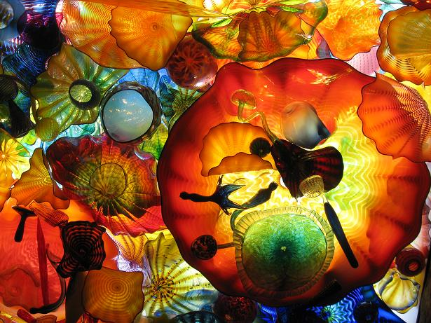 Chihuly Overhead Installation
