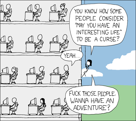 Thanks for xkcd.com for the awesome comic.