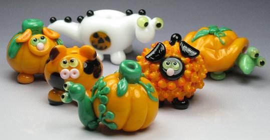 Pumpkin Party - I really like the turtle!
